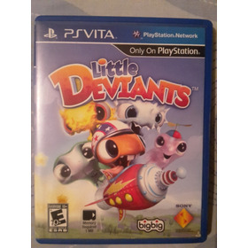 Little Deviants Para Playstation Vita Psvita Usado (fisico)