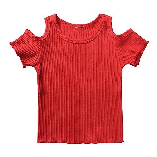 ebfc0b906 Little Dragon Pig Ropa Para Niña De Verano Camiseta Roja De ...