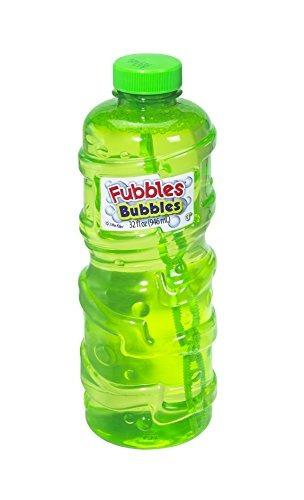 little kids fubbles premium long lasting bubble solution, 32