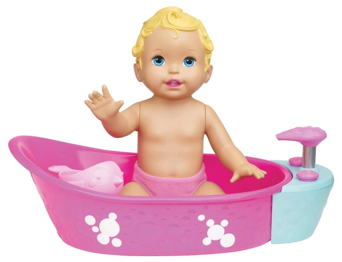 Little Mommy Boneca Hora Do Banho E Banheirinha E