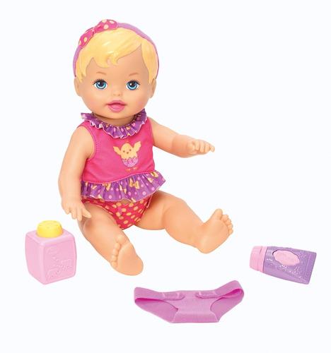 little mommy - momentos do bebê - hora de trocar as fraldas