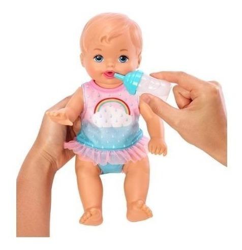 little mommy muñeca kit hora de hacer pipi fkd02