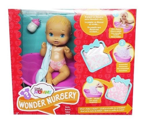 little mommy wonder nursery muñeca ref fwj41 guardería