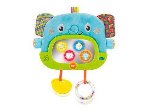 little pals  elefante con espejo y luces