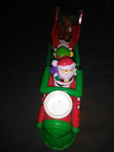 little people tren santa musical.