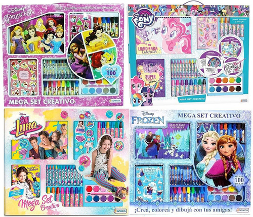 little pony mega set actividades didactico new 09329 bigshop