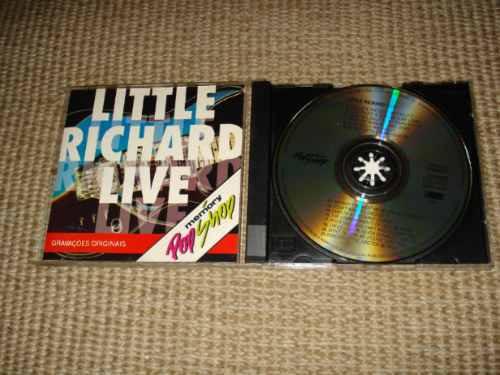 little richard live cd exclusivo brasil série popshop memory