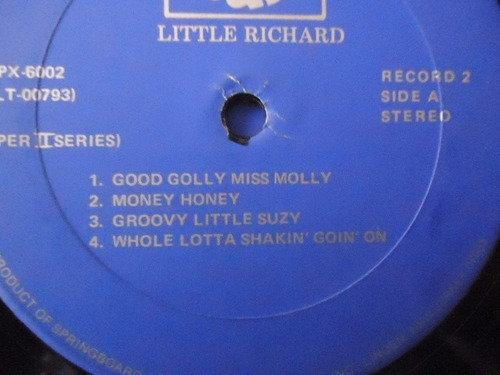 little richard / super ii series vinyl lp acetato