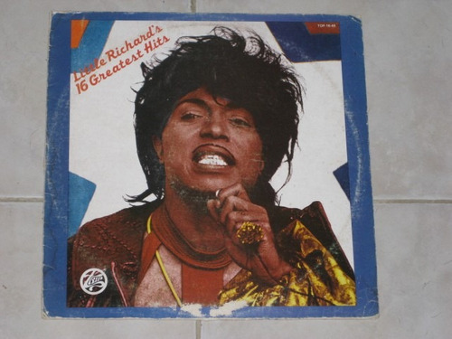 little richard´s 16 greatest hits disco lp acetato vinil