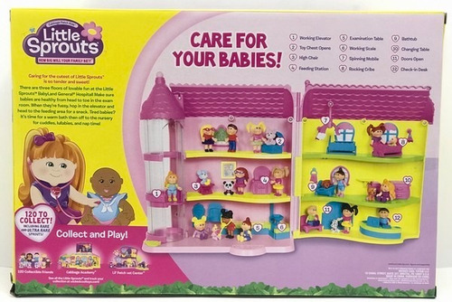 little sprouts playset hospital con accesorios lat 37307