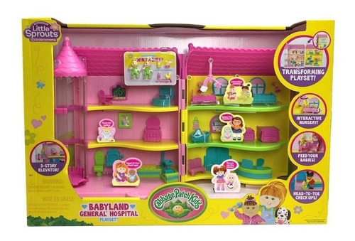 little sprouts playset hospital con accesorios rre 37307