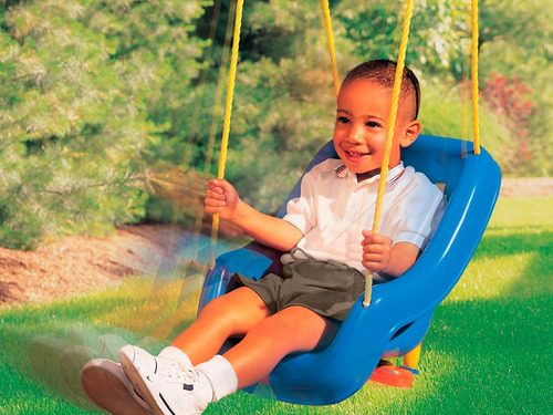 little tikes columpio  (2 in 1 snug n secure swing 4 pk)