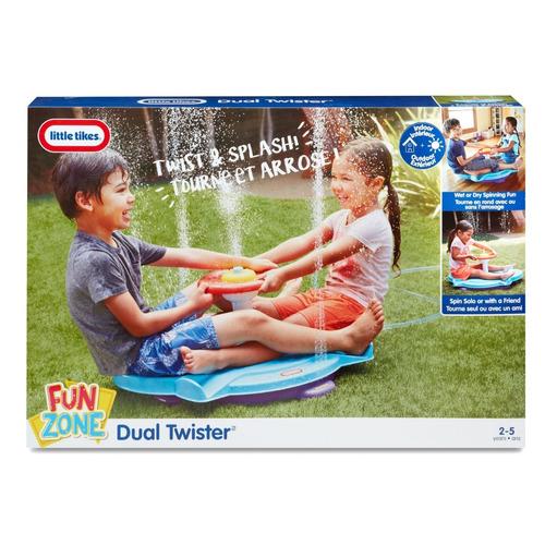 little tikes fun zone dual twister juguete juego agua niños