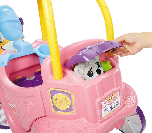 little tikes juguete caballo y carruaje de princesas