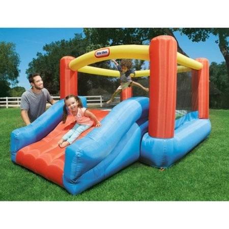 little tikes jump 'n slide bouncer junior