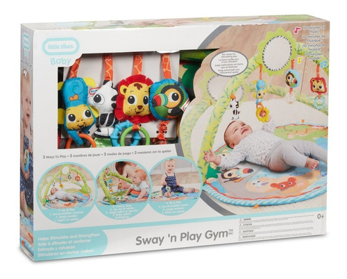 little tikes ltk gimnasio colúmpiate y juega juguete preesco