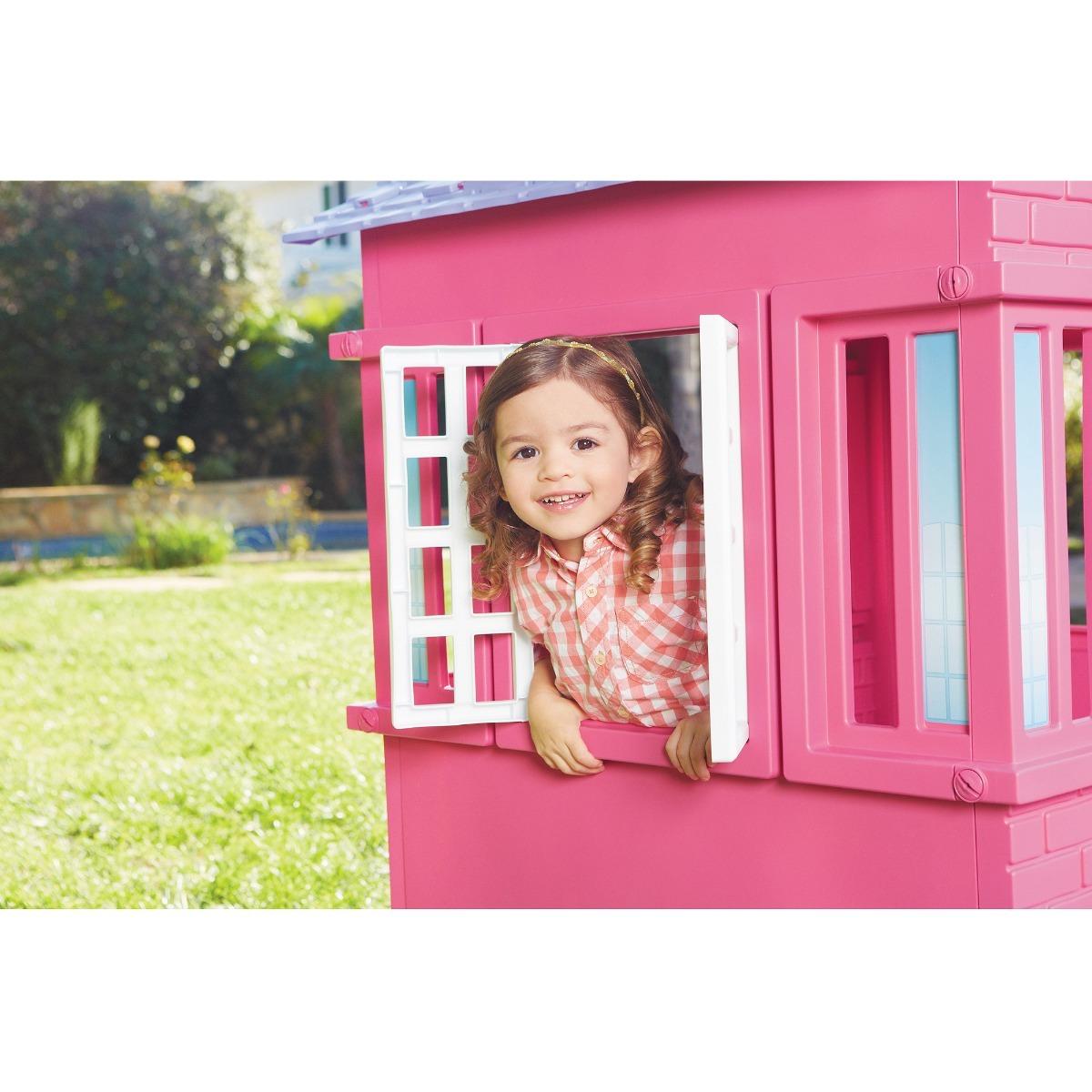Little Tikes Princess Cottage Playhouse Pink Den181 Cargando Zoom