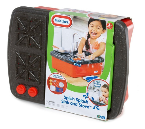 little tikes splish splash lavabo y estufa