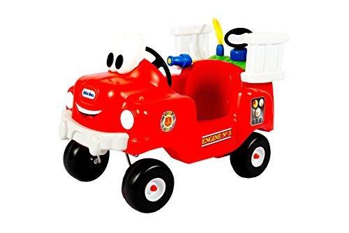 little tikes spray y fire truck de rescate