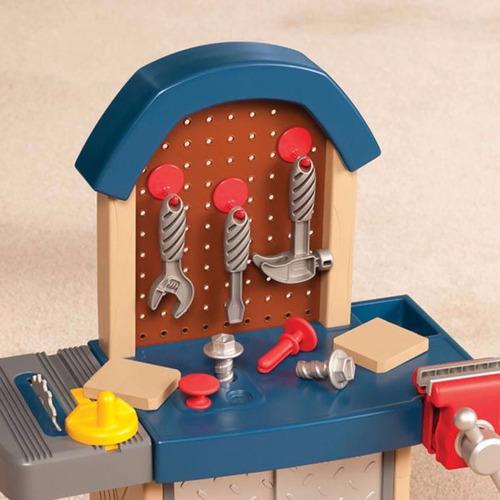 little tikes tough mesa trabajo herramientas niños