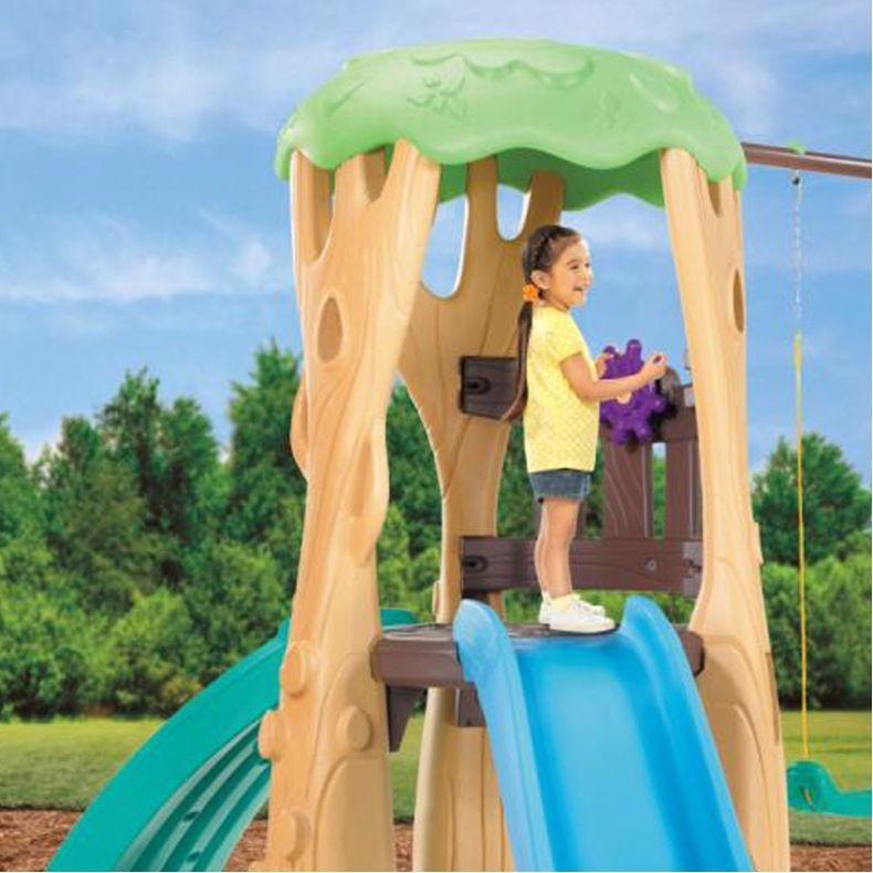 Little Tikes Tree House Swing Set Columpios - S/ 3.259,00 en Mercado ...