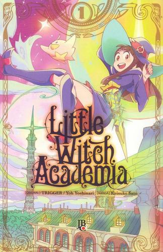 little witch academia 1 ao 3! mangá jbc! novo e lacrado!
