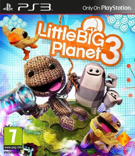 littlebigplanet 3 digital ps3 latino