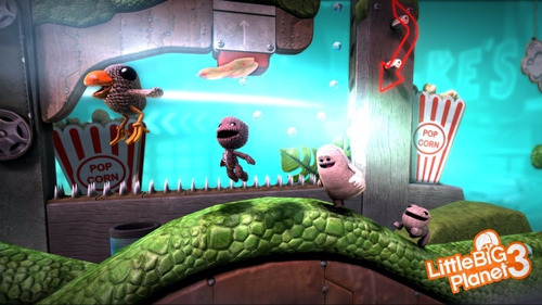 littlebigplanet¿ 3 juego ps3 digital original oferta