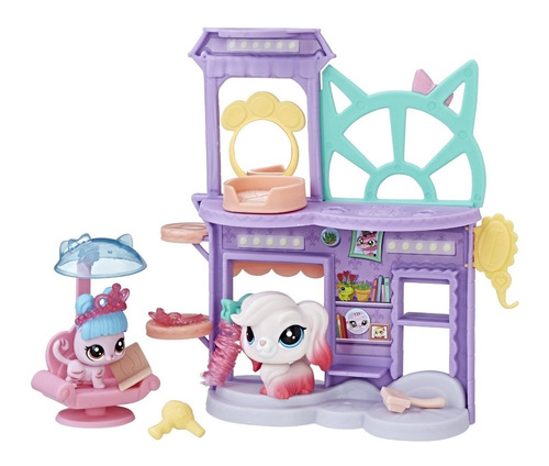 littles pet shop salón de belleza#accesorios hasbro c1202