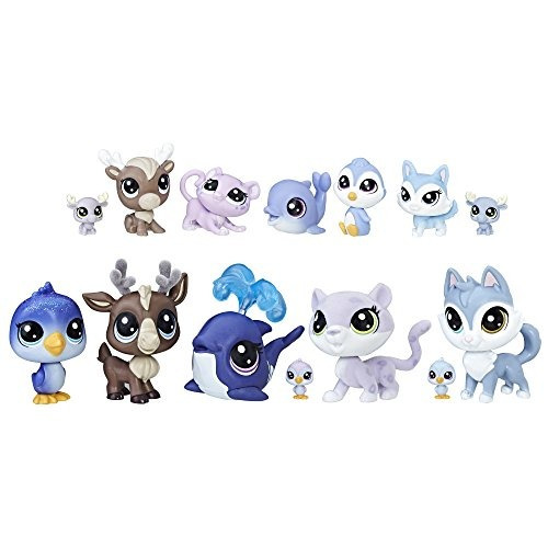 littlest pet shop arctic chillin together doll (amazon exclu