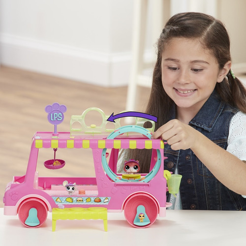 littlest pet shop camion de delicias - hasbro