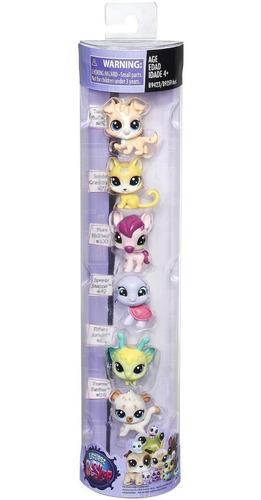 littlest pet shop colección especial x 6 - vavi toys
