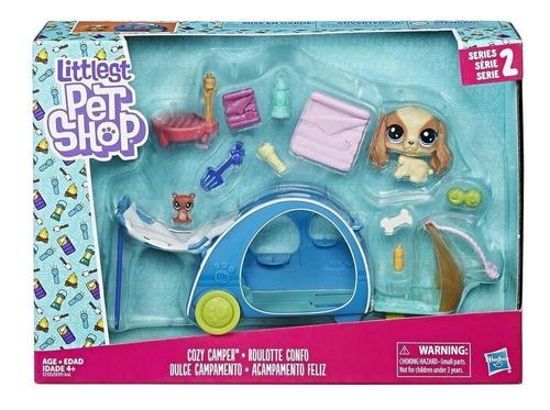 littlest pet shop - dulce campamento - hasbro