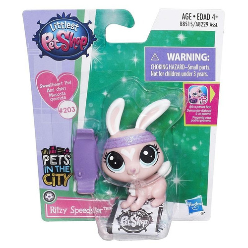 littlest pet shop lindas mascotitas ritsy speedser