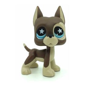 Littlest Pet Shop Lps #817 Chocolate E Bege Great Dane