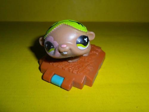 littlest pet shop muñeco miniatura hasbro perrito mascota