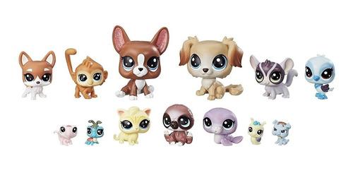 littlest pet shop pack mascotas traviesas - hasbro
