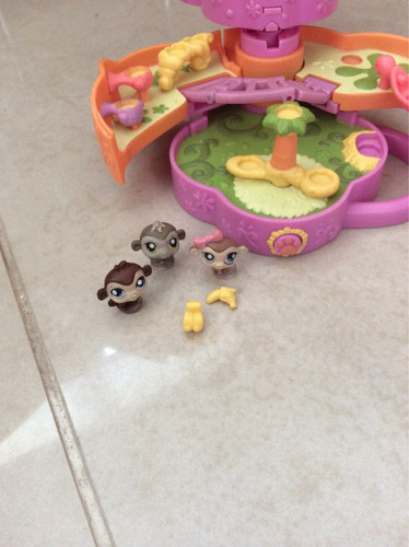 littlest petshop! parque de diversões - macacos!