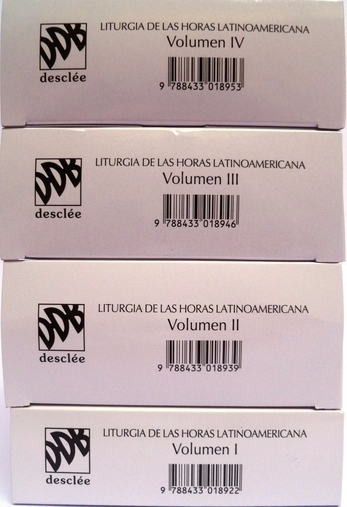 e1886f3b3d8 liturgia de las horas para américa latina 4 tomos ddb. Cargando zoom.