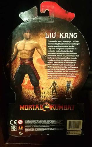 liu kang figura jazwares 20 aniversario vídeo juego mortal