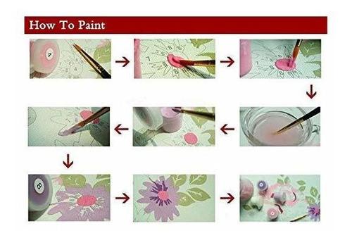 liudao pintura por números pintura al óleo diy para adultos
