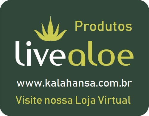 live aloe -  puro gel de babosa - kit com 5 unidades
