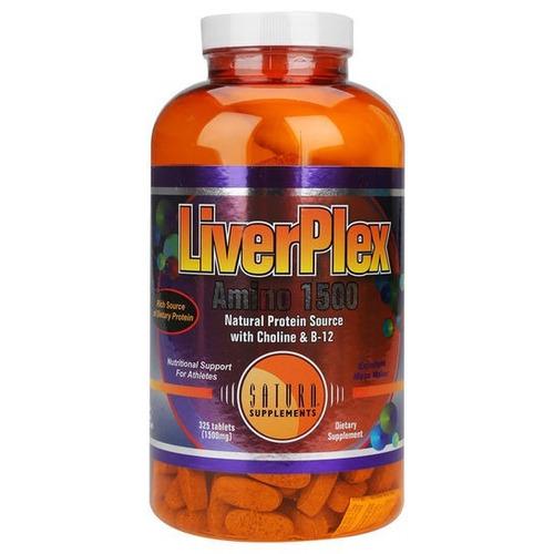 liverplex amino 1500 325tbs saturn - proteina de higado seco