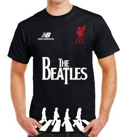 super popular d1f9d ad160 Liverpool Fc Playeras Edición Especial The Beatles Alienwall