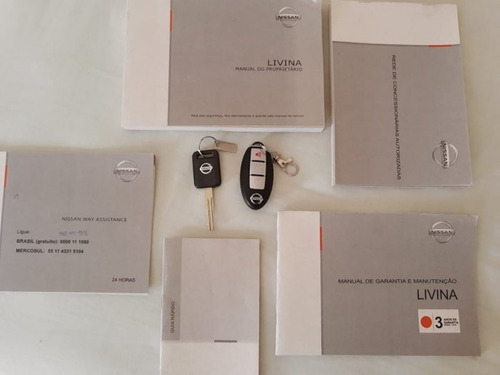 livina 1.8 sl 16v flex 4p automático