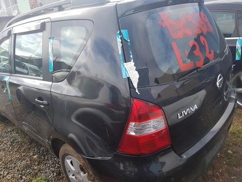 livina - 2013 - sucata - mecanica - lataria - acessorios