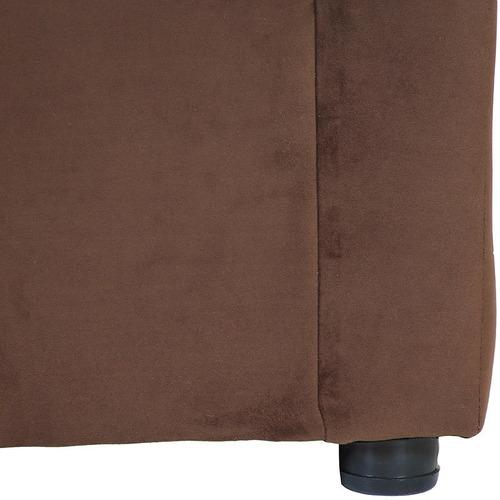 living américa 211 felpa chocolate / muebles américa