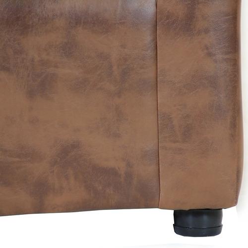 living américa 311 cuero sintético caramelo/ muebles américa