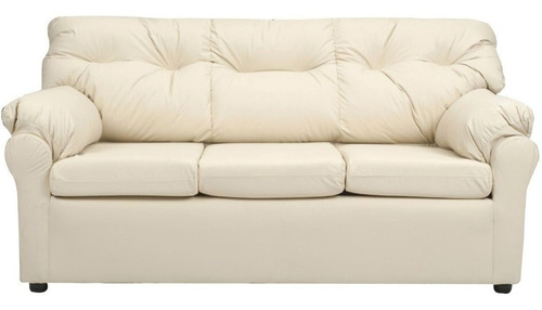 living américa 321 cuero sintético beige / muebles américa