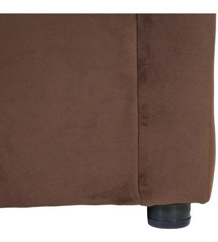 living américa 321 felpa chocolate / muebles américa